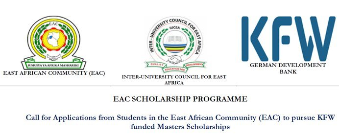 German Development Bank-KFW/East African Community (EAC) Scholarship Programme 2021/2022 for Masters Studies (Fully Funded)