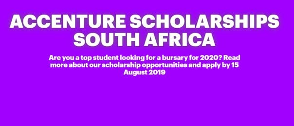 Accenture SA Education Trust Scholarships 2022 for young South Africans