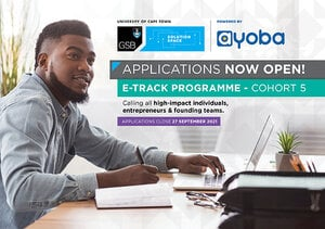 MTN Solution Space e-Track Programme 2021 for entrepreneurs and early-stage startups.