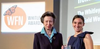 Whitley Awards 2022 for Grassroots Conservation Leaders in the Global South (up to £40,000)