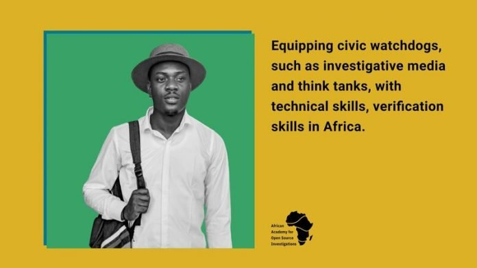 African Academy for Open Source Investigation Fellowship for investigative media and watchdog NGOs
