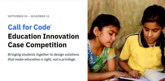 Call for Code Education Innovation Case Competition 2021 (Up to $37,000 in prizes)