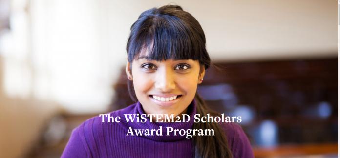 Johnson & Johnson WiSTEM2D Scholars Award Program 2022 for female leaders in STEM discipline ( $150,000 award)
