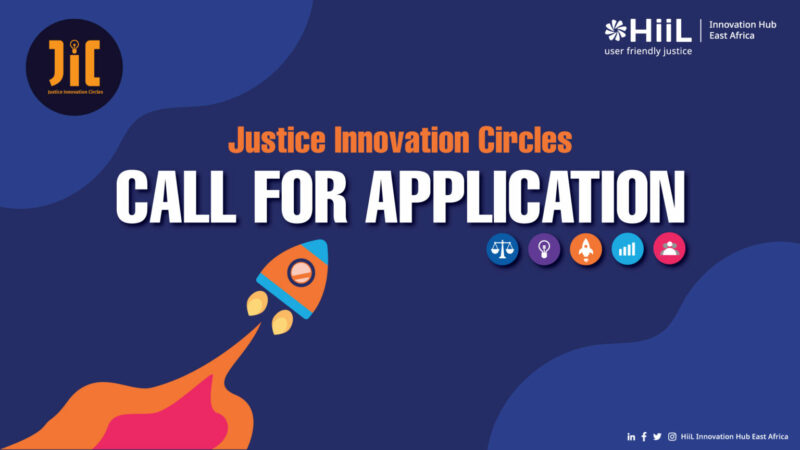 Hague Institute for Innovation (HiiL) Justice Innovation Circle 2021 for Startups in East Africa