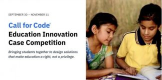 IBM Call for Code Education Innovation Case Competition 2021 ($37,000 prize)