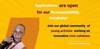 Accountability Lab Accountability Incubator Program 2022 for young civic innovators.