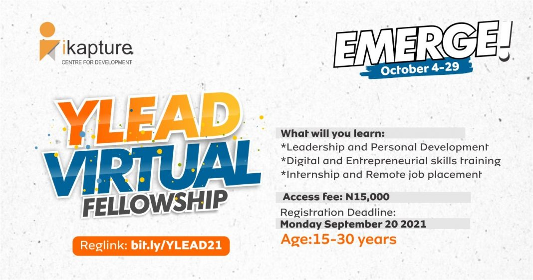 YLEAD Virtual Fellowship Program 2021 for Aspiring Young Leaders in Nigeria
