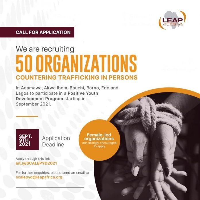 LEAP Africa SCALE Positive Youth Development Program for Nigerian CSOs