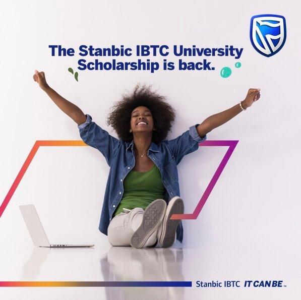 Stanbic IBTC University Scholarship 2021 for Nigerian Undergraduate Students (N40Million Scholarship Fund)