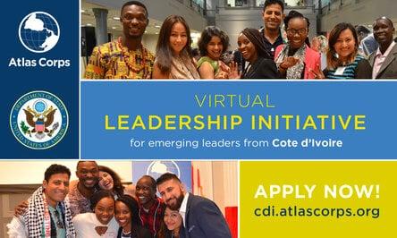 Atlas Corps Côte d'Ivoire Emerging Leaders Initiative for emerging Ivorian social change leaders
