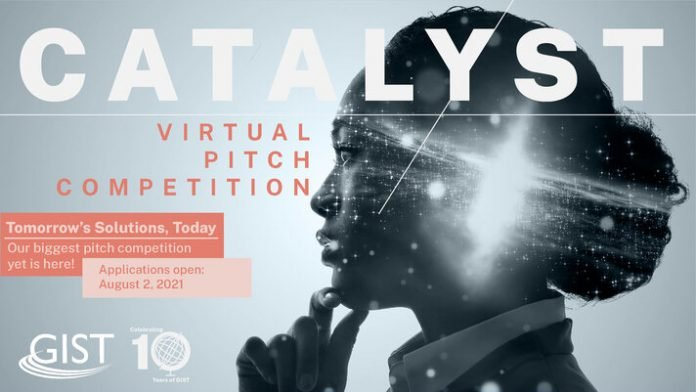 Global Innovation through Science and Technology (GIST) Catalyst Virtual Pitch Competition 2021 for young STEM entrepreneurs.