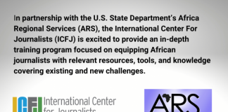 U.S. State Department/ICFJ Mobile Journalism Training 2021 for African Journalists