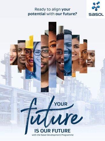 The Sasol Graduate Development Programme 2022 (GDP) for South African graduates.