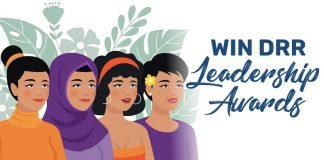 Women's International Network on Disasters Risk Reduction (WIN DRR) Leadership Awards 2021