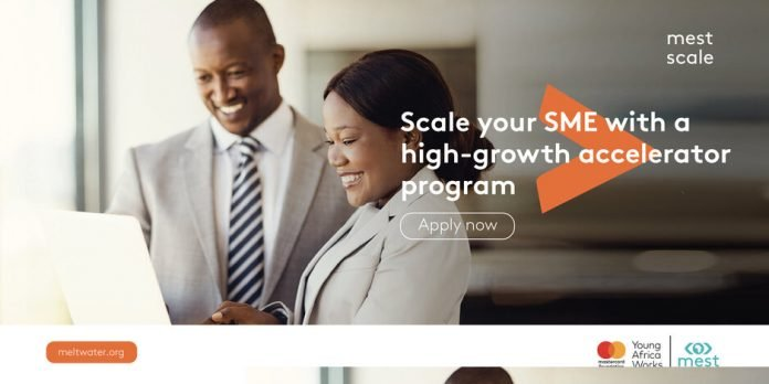 MEST Scale venture acceleration program 2021 for Ghanaian small and medium enterprises.