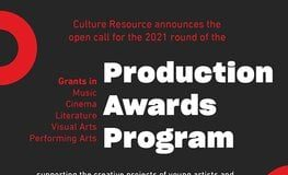 Culture Resource Production Awards Program 2022 for Artists and Writers from MENA Region.