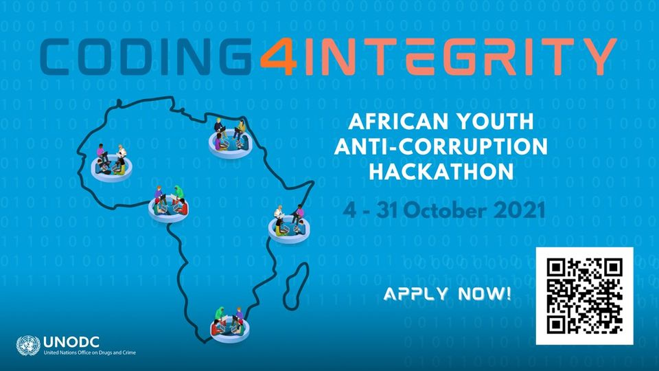 UNODC African Youth Anti-Corruption Hackathon 2021 (Fully-funded to Sharm El-Sheikh, Egypt)