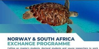 Norway and South Africa Exchange Programme 2021/2022 for young Researchers.