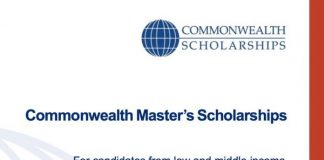 Commonwealth Master's Scholarships 2022/2023 for full-time Master's study at a UK university (Fully Funded)