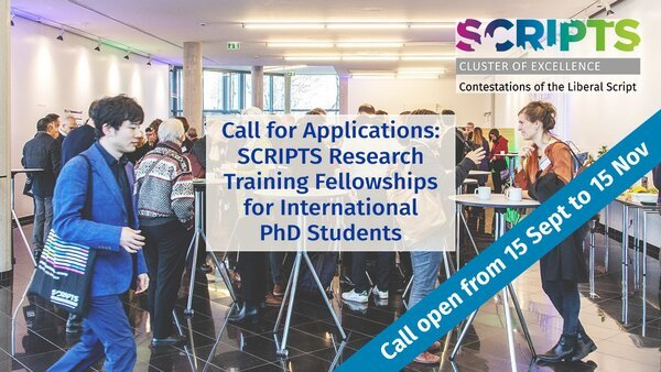 SCRIPTS Research Training Fellowships 2022 for International PhD Students (Funded)
