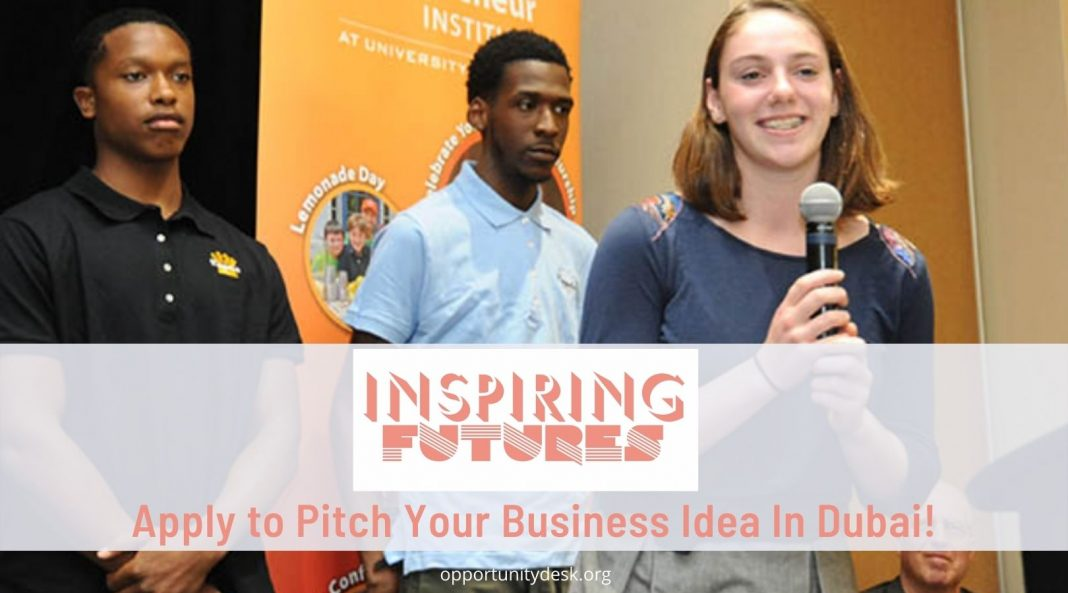 Inspiring Futures Dubai Pitch Competition 2021 for Entrepreneurs in the UAE Region