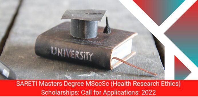 South African Research Ethics Training Initiative (SARETI) Masters Degree Scholarships 2022 for study in South Africa (Fully Funded)