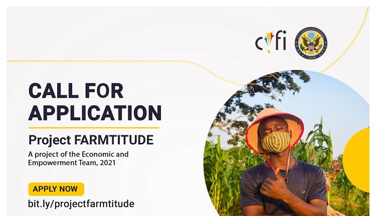 Carrington Youth Fellowship Initiative (CYFI) Project Farmitude 2021 for Lagos-based Agripreneurs