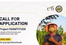 Carrington Youth Fellowship Initiative (CYFI) Project Farmtitude 2021 for Lagos-Based Agripreneurs.