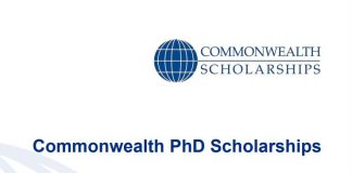 Commonwealth PhD Scholarships 2022-2023 for Study in the UK (Fully-funded)