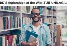 The Wits-TUB-UNILAG Urban Lab Masters & PhD Scholarships Programme 2022 in Urban Studies.