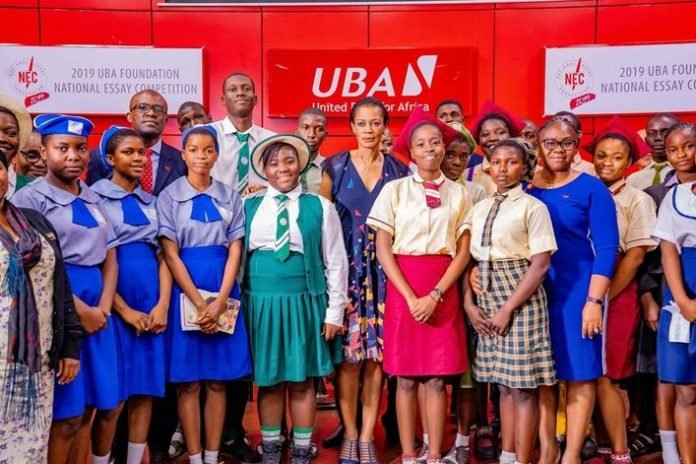 UBA Foundation 2021 National Essay Competition for Nigerian senior secondary students (7.5 Million in Prizes)