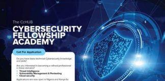 CcHUB Cybersecurity Fellowship Academy 2021 for young Kenyans and Nigerians.