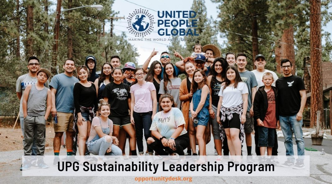 United People Global (UPG) Sustainability Leadership Program 2022 (Fully-funded training to USA)