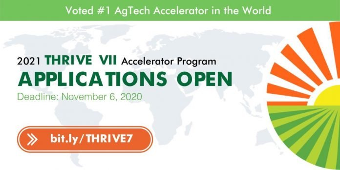 THRIVE VIII Accelerator Program 2022 for early to growth-stage startups