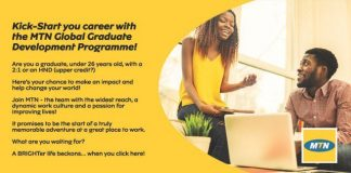 MTN Global Graduate Development Programme 2022 for young graduates across Africa.