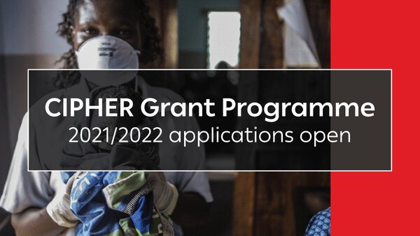 International AIDS Society CIPHER Grant Programme 2021/2022 for early-stage investigators (US$150,000 grant