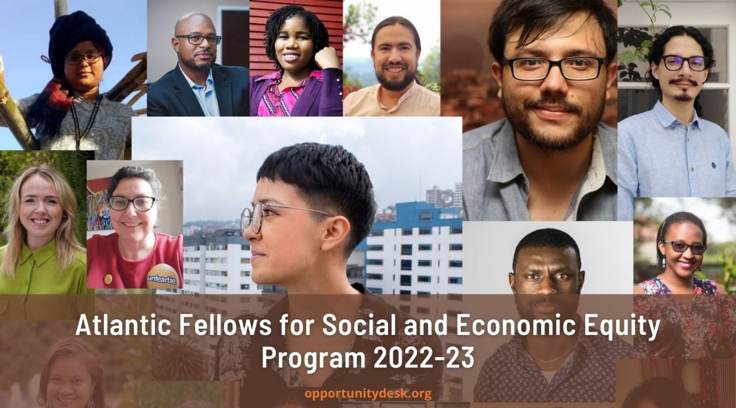 Atlantic Fellows for Social and Economic Equity Program 2022-23 (Fully-funded)