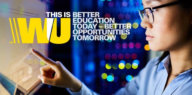 Western Union Foundation Global Scholarship Program 2021/2022 for  low-income international students ($USD 400,000 in scholarship)
