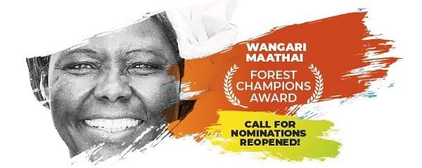 Wangari Maathai Forest Champion Award 2022