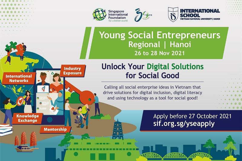 Young Social Entrepreneurs (YSE) Regional Program 2021 – Hanoi, Vietnam