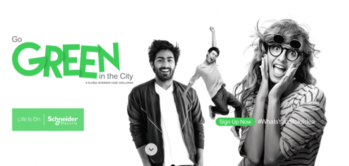 Go Green in the City 2022 Global Student Competition (Sponsored Trip to Schneider Electric's Global Innovation Summit!)