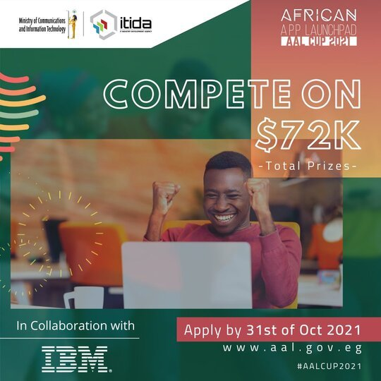 African App Launchpad (AAL) Competition 2021 for App and Game Development African Startups ($USD 72K Cash Prizes)