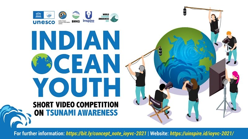 UNESCO-IOC Indian Ocean Youth Short Video Competition on Tsunami Awareness 2021