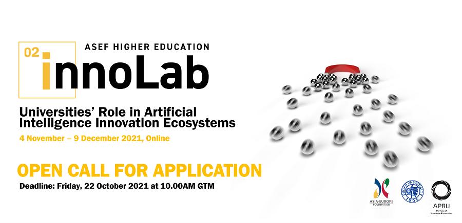 2nd ASEF Higher Education Innovation Laboratory (ASEFInnoLab2) 2021