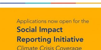 WAN-IFRA Women in News Social Impact Reporting Initiative (SIRI) for Climate Crisis Coverage (3,000 Euros)