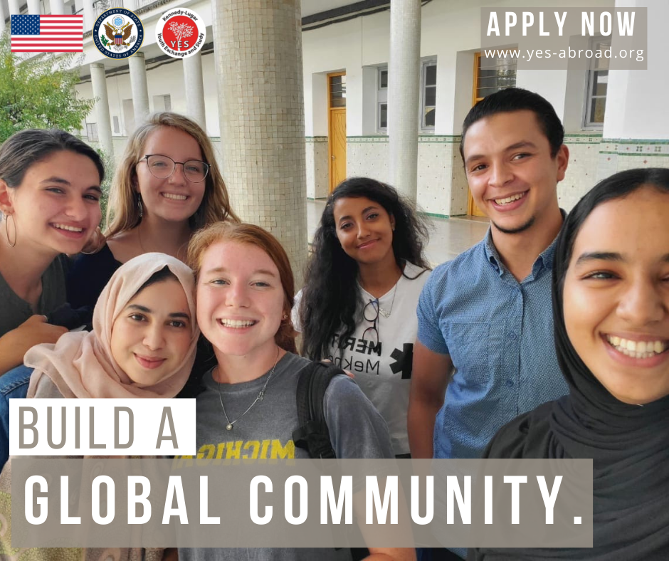 Kennedy-Lugar Youth Exchange and Study (YES) Abroad Program 2022-2023 for U.S. High School Students