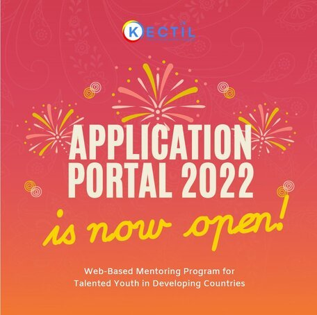 Kectil Web-Based Mentoring Program 2022 for Talented Youth in Developing Countries.