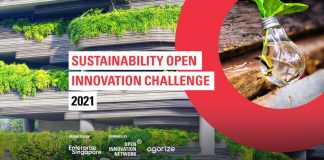 Enterprise Singapore (ESG) Sustainability Open Innovation Challenge 2021 (Round 1)