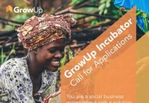 The Yunus Environment Hub GrowUp Incubator Program 2022 for Social Businesses in East Africa.