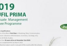 Dufil Prima Foods Plc Graduate Process Engineering Trainee 2021 for young Nigerians.